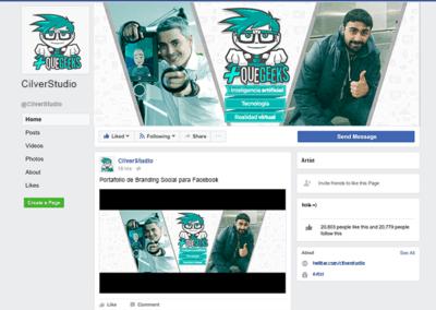 Branding Social Fanpage Geek