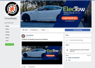 Branding Social Fanpage de coches